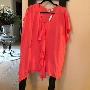 Cato bright pink blouse